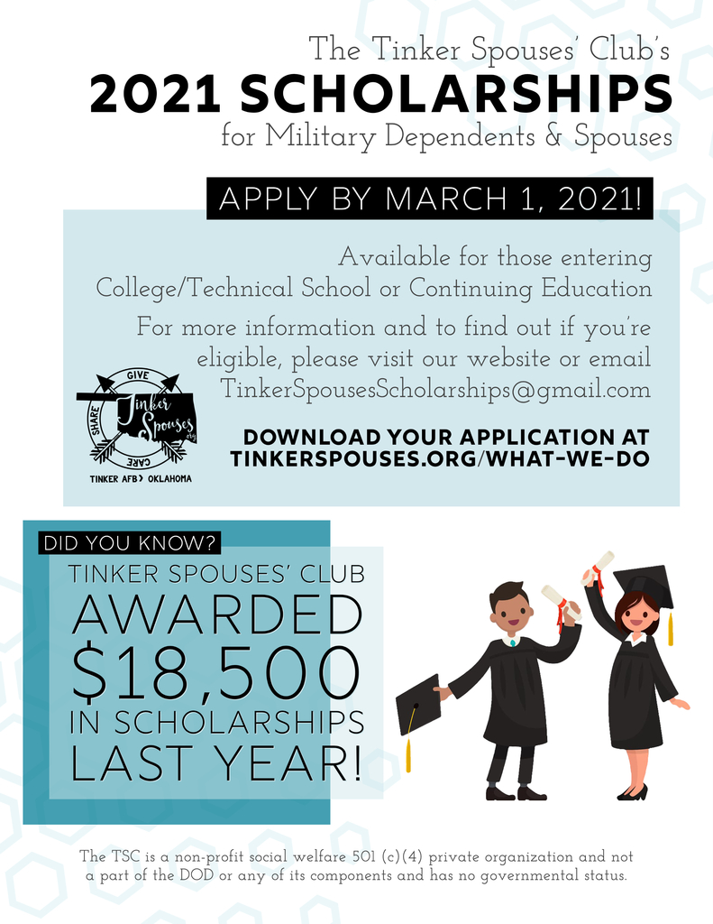 TSC SCHOLARSHIP FLYER