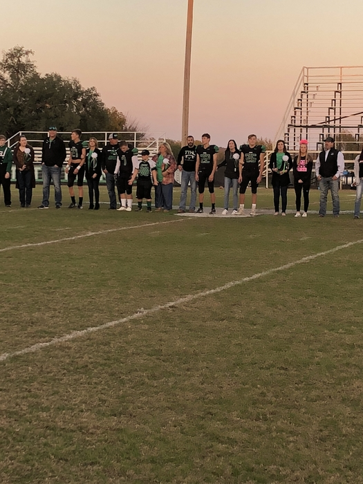 JHS senior night