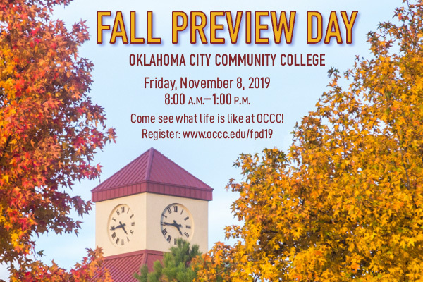 OCCC FALL PREVIEW DAY