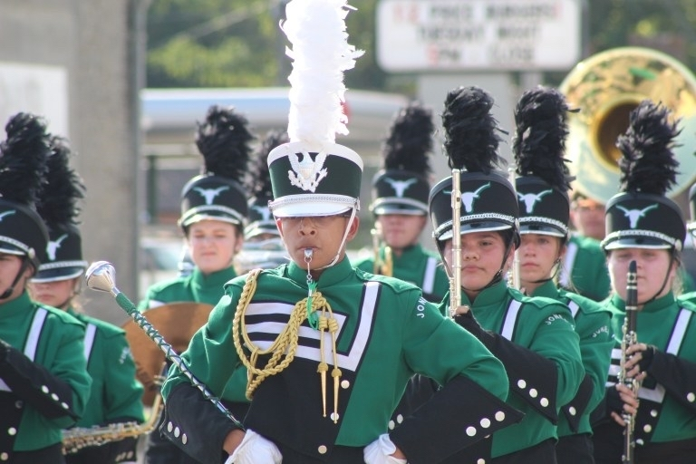 Good luck to the band today as they compete in the OSSAA marching in Lawton today! Go Horns!